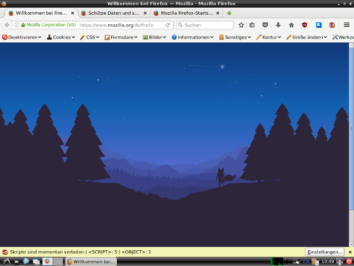 live-wrapper stretch live iso firefox
