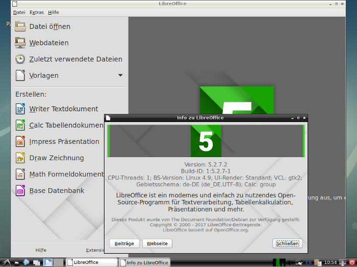 live-wrapper stretch live iso libreoffice